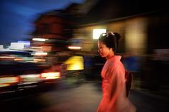 Maiko in Gion (hayleycasa) Tags: japan kyoto maiko geisha gion mamehana