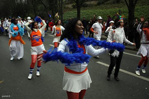 Les brésiliens sont en force dans le Carnaval
