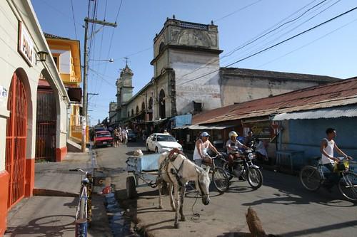 Granada market area.