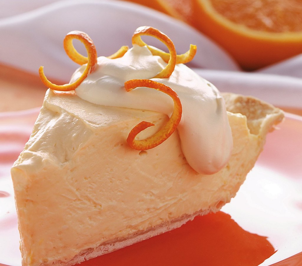 Orange Cheesecake Pie Recipe