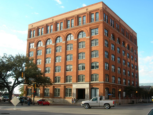 The infamous Texas School Book Depository