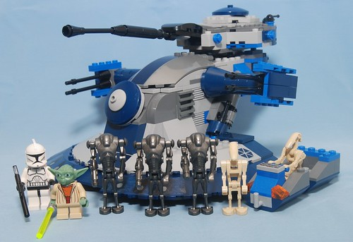 Star Wars Lego 8018 Armored Assault Tank (AAT) - a photo on