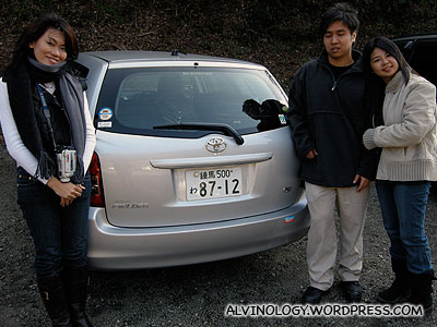 With our car for two days