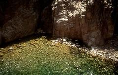 Canyon de la Vacca : la vasque du rappel (obligatoire, ou presque)