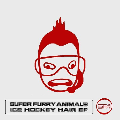 Super Furry Animals - Ice Hockey Hair EP (MS Paint version)