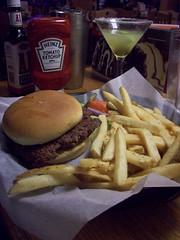 Applebees Mikey's burger