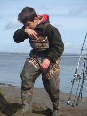 South Solway - Sea Fishing (Paddlesdown) Tags: flattie seafishing seaangling southsolway flattyfishig
