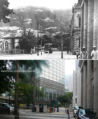 -   1920's (HK Man ()) Tags: old hk hongkong central  thenandnow oldhk   oldhongkong
