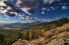 Rocky Mountain NP Cloud Circus (Fort Photo) Tags: park sky mountain mountains nature clouds forest landscape rockies nikon colorado nps rocky peak co rmnp longspeak wilderness 2009 rockymountainnationalpark hdri d300 longs manyparkscurve specland tthdr theperfectphotographer tokina1116