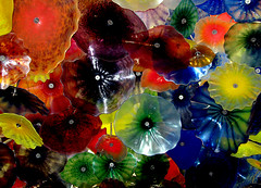 Colorful Chihuly Ceiling (dlco4) Tags: sculpture chihuly glass colors amazing colorful lasvegas ceiling eyecatcher glasssculpture bellagiohotel anycoloryoulike goldsealofquality photographerparadise apretentioussystemofheteroducks struckbyarainbow thecolorwizards faboritenaturalcoloursandlights