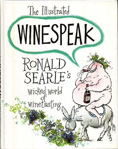 Ronald Searle - Winespeak cover
