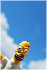 My Last Breath (Srch) Tags: blue azul toy cielo homer thesimpsons homero homersimpson monito lossimpsons homerosimpson nikond60 30daysoneobject