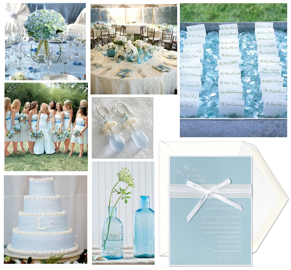 Wedding Cabaret ): Muse Board: Inspired by Sea Glass