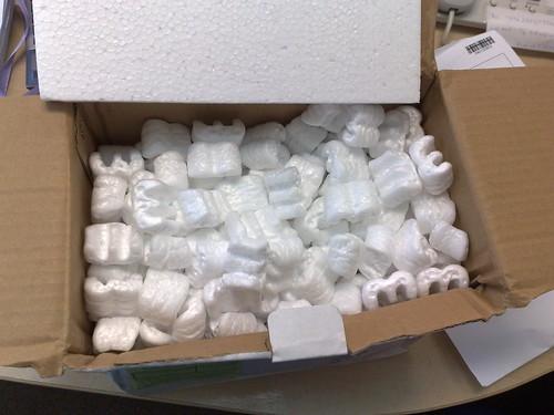 styrofoam nuggets