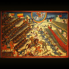 The  Battle of Adwa, 1896 (Giorgio Verdiani) Tags: london 1940 olympus handheld britishmuseum londra zuiko evolt ethiopian etiopia 1896 e500 adwa menelik etiope 1445mm taitu digitalreflex adua thebattleofadwa rflexdigitale