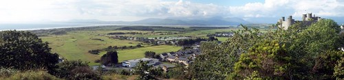 Harlech Panorama by you.
