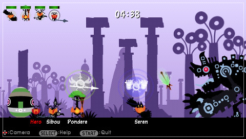 Patapon 2 Multiplayer screenshot 2