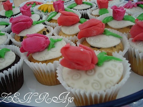 Haarlem deki kermes icin kup kekler