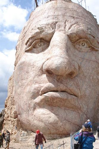 Crazy Horse Memorial Face