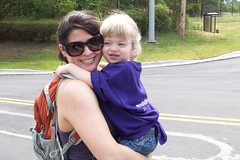Tracy & Catie on the March for Babies