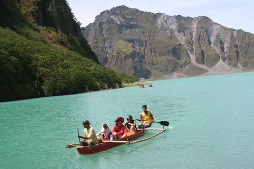 mt pinatubo boating