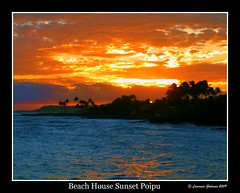Beach House Sunset Poipu (lhg_11/ Thanks you for 500,000 views of 6,371 iima) Tags: sky clouds hawaii scenic sunsets kauai beaches poipu 500views 100comments aplusphoto aphotopool blueribbonphotographypool theperfectphotographerpool soepool luminosityandlightpool spectacularsunsetsandsunrisespool skyascanvaspool goldenlandscapepool photographerparadisepool worldmasterpieceawardpool theunforgettablelandscapespool todaysbestpool