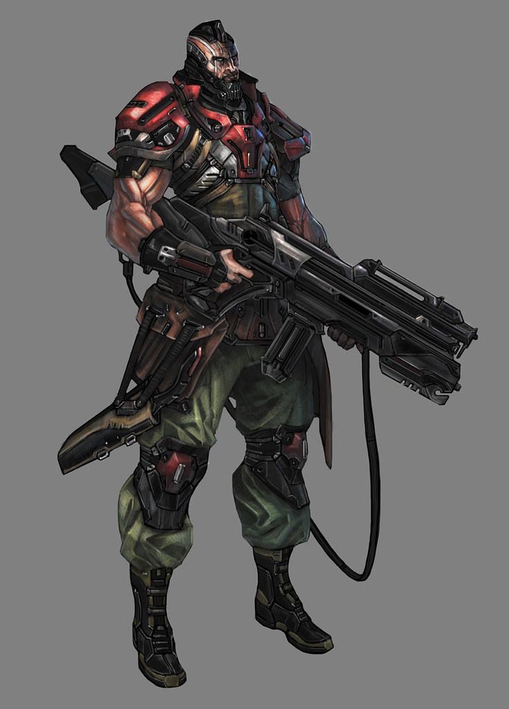 Freelancer character design for games, films, toys... (update 6-9-09)