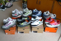 Nike Air Max 1/ 95/ Light Pickups. (gooey_wooey) Tags: light 1 neon mesh euro teal id ds running womens sneakers trainers nike retro used og clot heat kicks thunderstorm 95 93 90 exclusive airmax 87 volt pickups freshwater firepink nikeid deadstock kanyewest melonslice