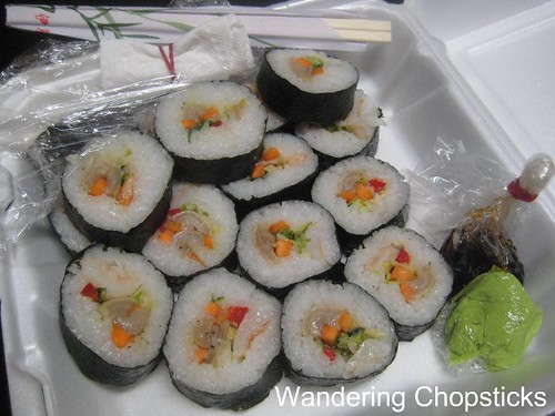 Mom's Razor Clam Sushi 2
