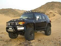 the full six (shine_on) Tags: truck desert offroad 4x4 dunes toyota jeddah suv fj landcruiser saudiarabia cruiser  lifted fabtech    bahra mickeythompson
