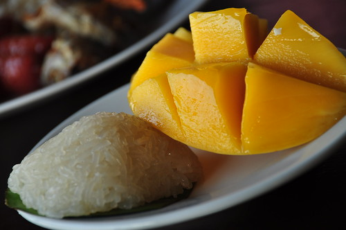 Puto and Sweet Mango
