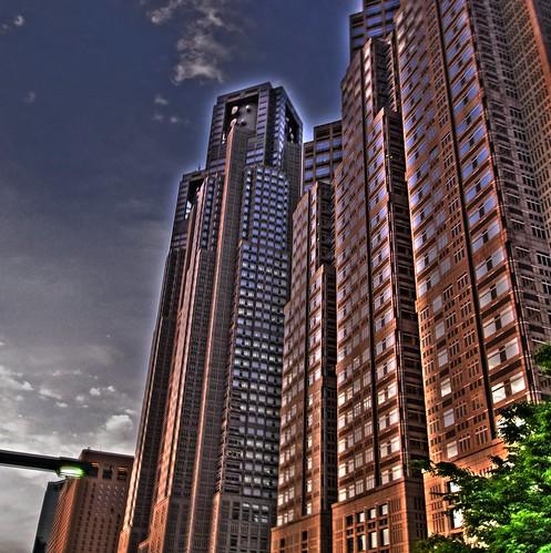 Tokyo metropolitan government in Shinjyuku