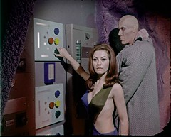 Knobs (birdofthegalaxy) Tags: startrek television 35mm scifi sciencefiction tos filmclip theoriginalseries culttv sherryjackson tedcassidy