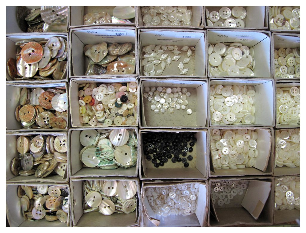 Abalone and shell buttons