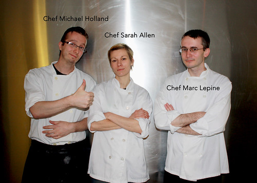 Chefs at Atelier