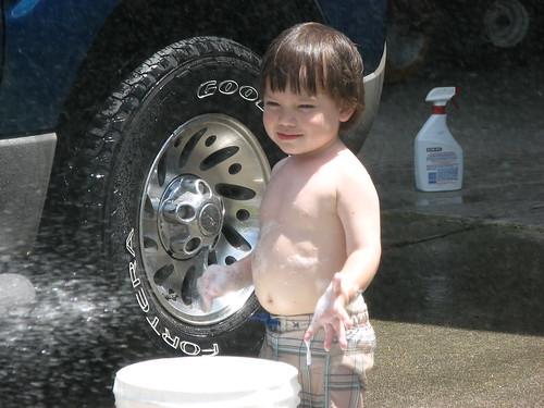 spray me!