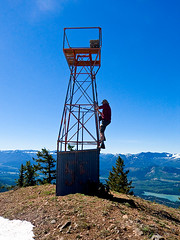 Jim K free climbing