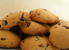 Chocolate Chips (Shay Aaron) Tags: breakfast cookie chocolate snack chip