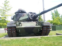 Tank In Kent, Washington Armory (AdultSwimBumpChannel2009) Tags: seattle urban church sign washington kent