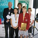 National History Challenge 2007 winners Lachlan Phillips, Naomi Tucker and Natalie Shadwell with Colin Griffiths and Maree Treadwell from the Australian Council of National Trusts