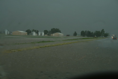 flooded fields and roads