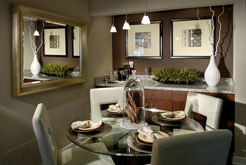 West Hollywood Apartments - The Crescent at West Hollywood - Sunset Strip Apartments - Dining Room Interior