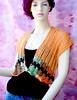 Kadinela No.154a (kadinela) Tags: summer orange handmade cotton knitted bolero