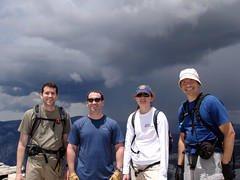 Greg, Brian, Laura and Aaron on Half Dome (Curry Village, California, United States) Photo