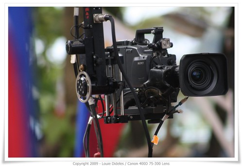 3CCD Camera witness the Philippines Independence Day Celebration