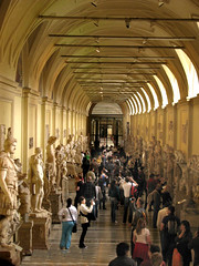 The Hall of Statues (Storm Crypt) Tags: world longexposure travel italy vatican rome roma art heritage history tourism museum architecture buildings painting construction artwork lowlight ancient europa europe paint italia catholic religion paintings culture indoor medieval vaticano historical civilization pointandshoot walls christianity masters legacy fresco renaissance christians painters vaticanmuseum romancatholic priests citta worldheritage digitalphotography vaticancity romanart finearts worldhistory frescoes ancientart renaissanceart artform travelphotography medievalart indoorphotography lowlightphotography cittadelvaticano rometourism catholicchristians apostolicplace