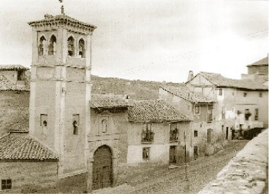 Iglesia de San Cipriano a principios del siglo XX