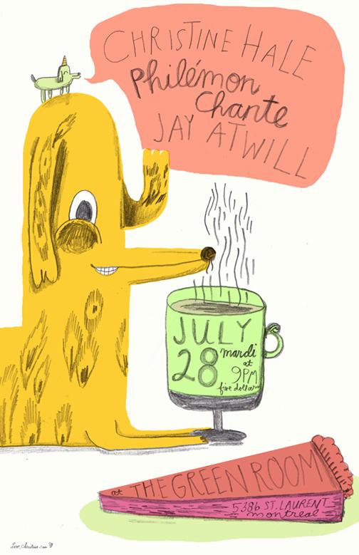 Christine Hale/ Philemon Chante/Jay Atwill