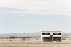marfa prada (patrick dentler) Tags: west art michael highway texas valentine prada 90 marfa ingar elmgreen dragset ninety