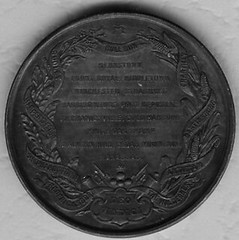 Stonewall Jackson Medal by Caque obverse